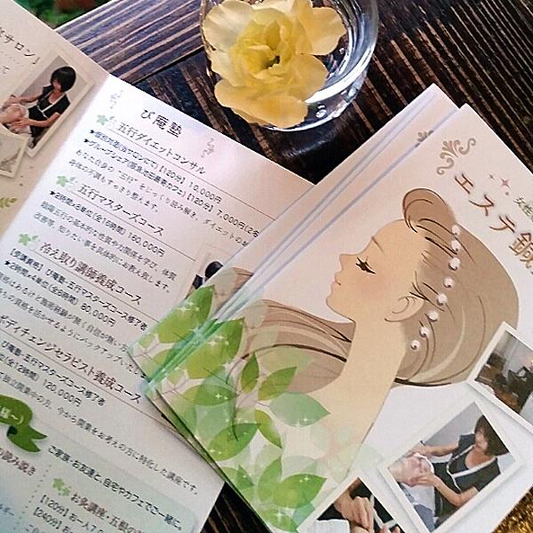 女性専用鍼灸サロン「エステ鍼灸び庵」プロフィール冊子
